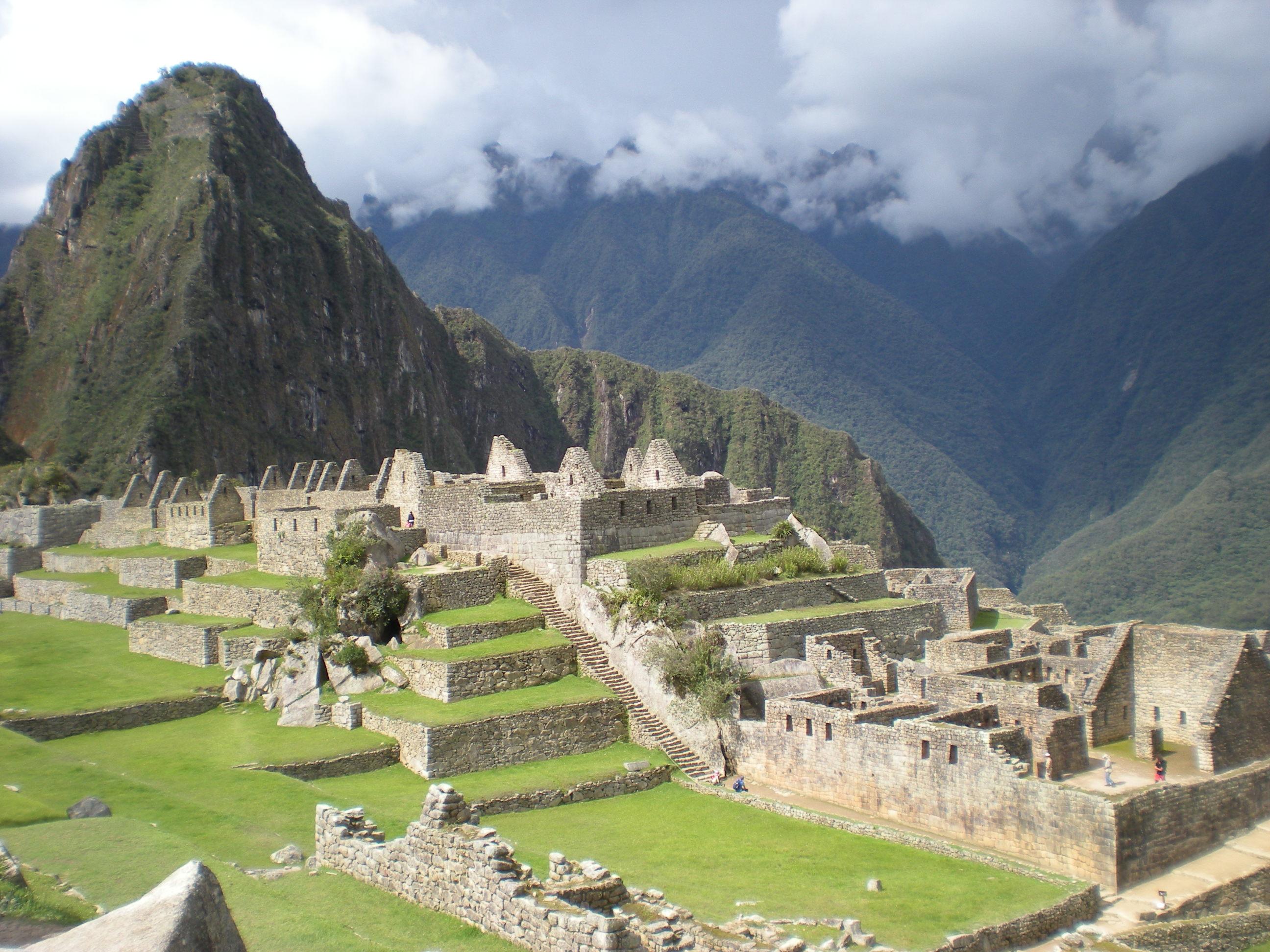 秘魯 Peru 馬丘比丘 Machu Picchu 沾衣欲濕杏花雨